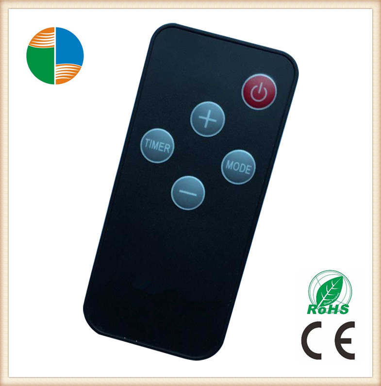 2016 hot sale electric fireplace/heater remote control with bulge button