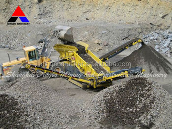 Made in China Mining Mobile Equipment Stone Crusher Plant For Africa