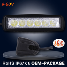 OEM available mini cooper led light bar with real IP67 and high reliability