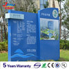 Floor standing LED advertising light box/advertising directional signage