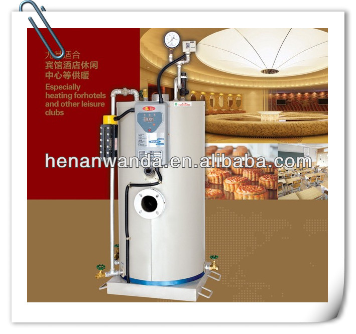 LSS series 30kg/h steam engine generator sale for hotel