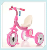 2016new baby trike toy popular children tricycle with best price and high qwith subwoofer and colorful light on the three wheels