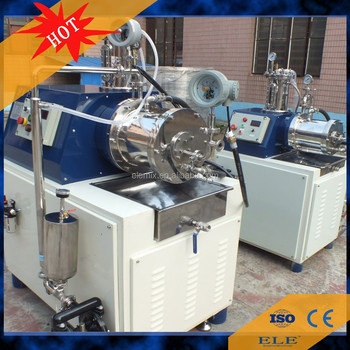 Superfine nano scale creamic horizontal grinding mill