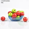 wholesale square colored glass fruit plate