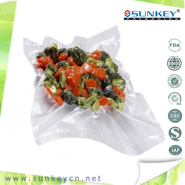 Food grade transparent frozen vacuum packaging