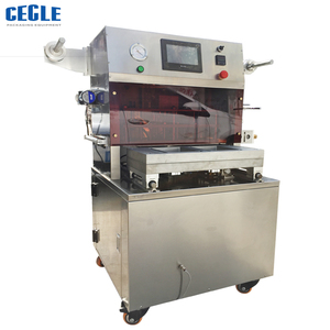 meat product tray sealing machine fastfood tray sealer