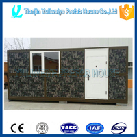 movable prefab assemble and disassemble container house