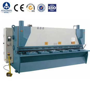 factory instock stainless steel/iron plate/MS Guillotine Hydraulic Shearing Machine