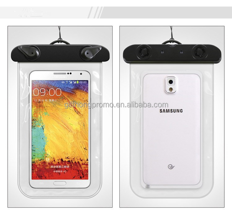 transparent mobile phone case waterproof bag for promotional gift