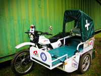NEW AMBULANCE for malawi safe baby side car