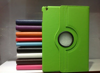 For ipad mini Leather Case/for ipad cover skin stand case smart cover 360 degree rotating leather case for ipad mini
