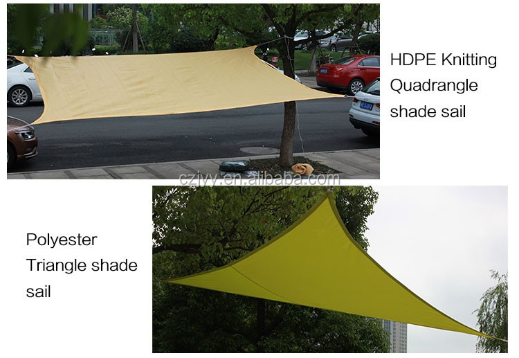 Waterproof shade cloth/ for shade sail,100% virgin HDPE anti UV fence net