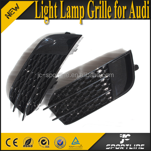 A1 RS1 ABS Black Fog Light Lamp Grille Cover for Audi A1 RS1 11-14
