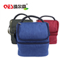 Promotional Two Layers 600D Polyester Outdoor Lunch Picnic Food Eco-friendly Insulated Cooler Thermal Bag