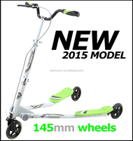 2015 cheapest hot-sale flicker 3 wheel speeder scooter for Adult (TTDS-001)
