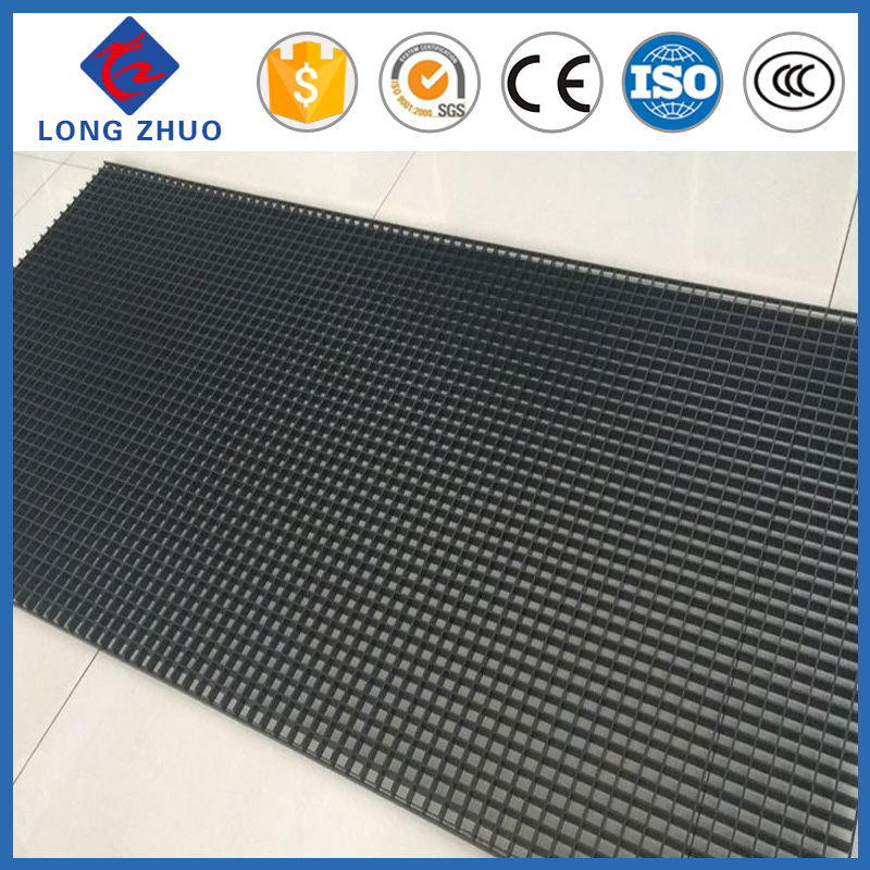 Black color HDPE Plastic eggcrate grille for air inlet