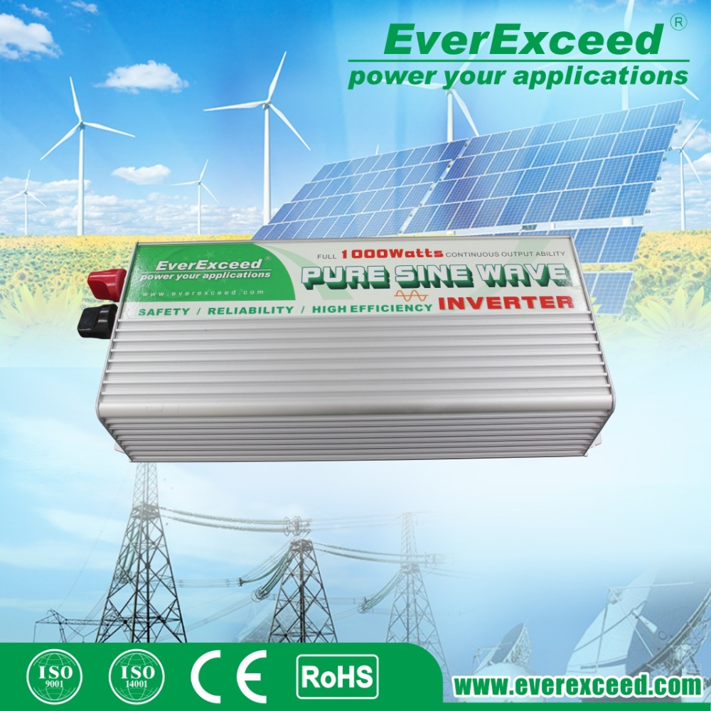 EerExceed ESC series 300W off grid dc to ac pure sine wave power inverter