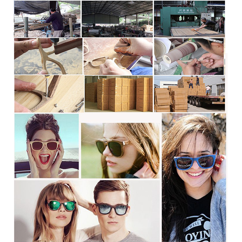 2018 Latest designers chinese fashion high quality bamboo sunglasses