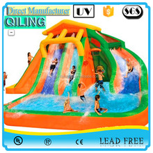 New design cheap inflatable adult and kids amusement park water slide with pool for sale ,made in China manufacturer