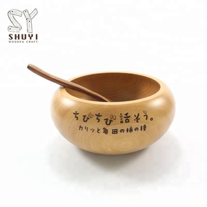 Eco-friendly Color Carved Personalized Wooden Bowls For Sale