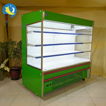 China Factory Promotion commercial produce display refrigerated cabinet upright convenience store beverage refrigerators