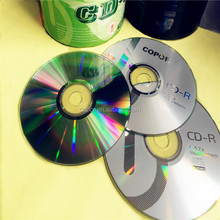blank cd dvd of high quality 700mb 80mins 52x copor cd disc(brand: copor/Ridata)