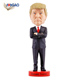 Customized logo funny dashboard Trump dashboard president resin bobble head