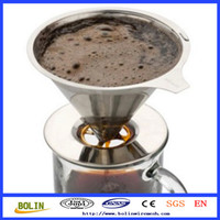 Cold Coffee Brewer Pour Over Cone Dripper