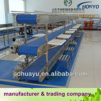 Stainless steel food conveyor for meat&fish&vegetable&fruit