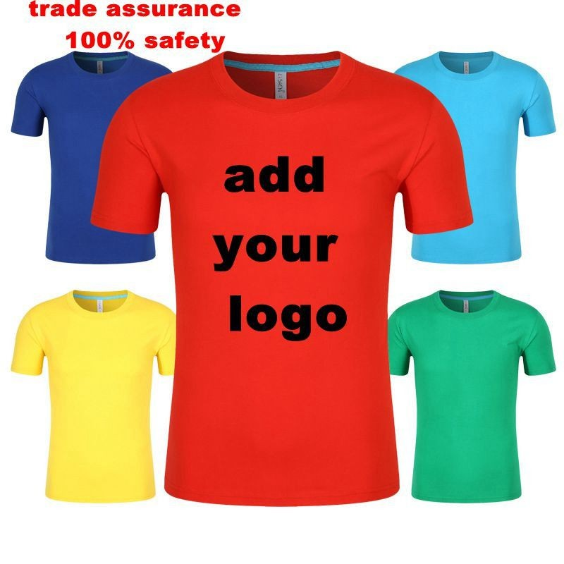 small order accept EU/US size Custom t-shirt printing custom cotton t shirt