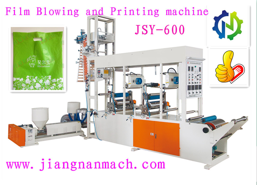 rotogravure printing mini bags plastic film blowing machine