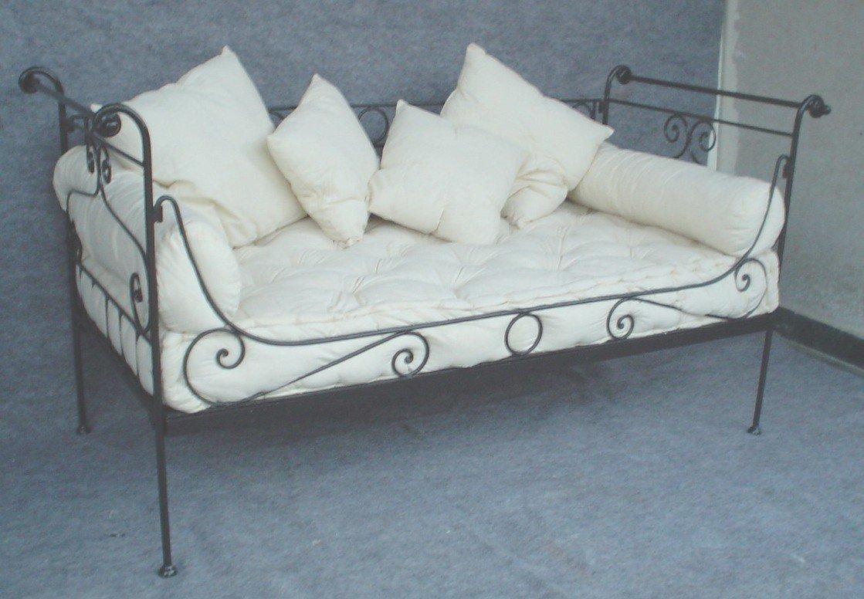 Gartenmobel Teak Kissenbox : eisen französisch tagesbettWohnzimmer SofaProdukt ID105424572