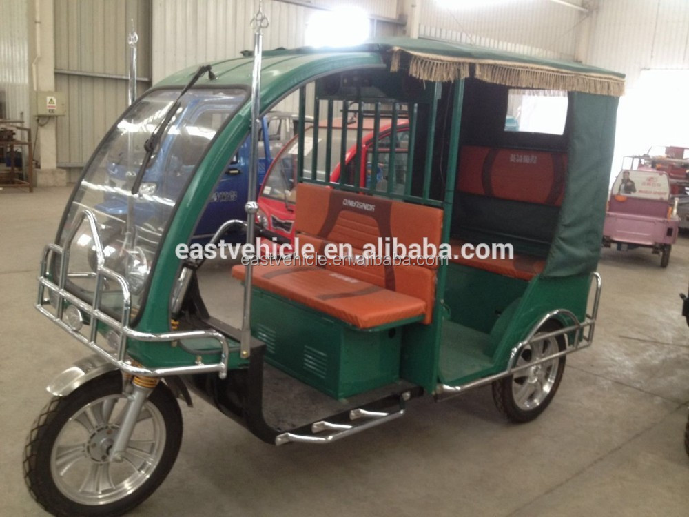 1000W Power and Cargo Use electric tricycle for Taxi / Electric Tuk Tuks/ electic tricycle for passenger china tricycle