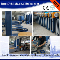 New style manual pallet stretch cling film wrapper wrapping machine