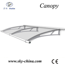 aluminum canopy supports for window canopy