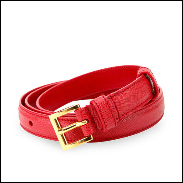 hair on cowhide belts red women belt