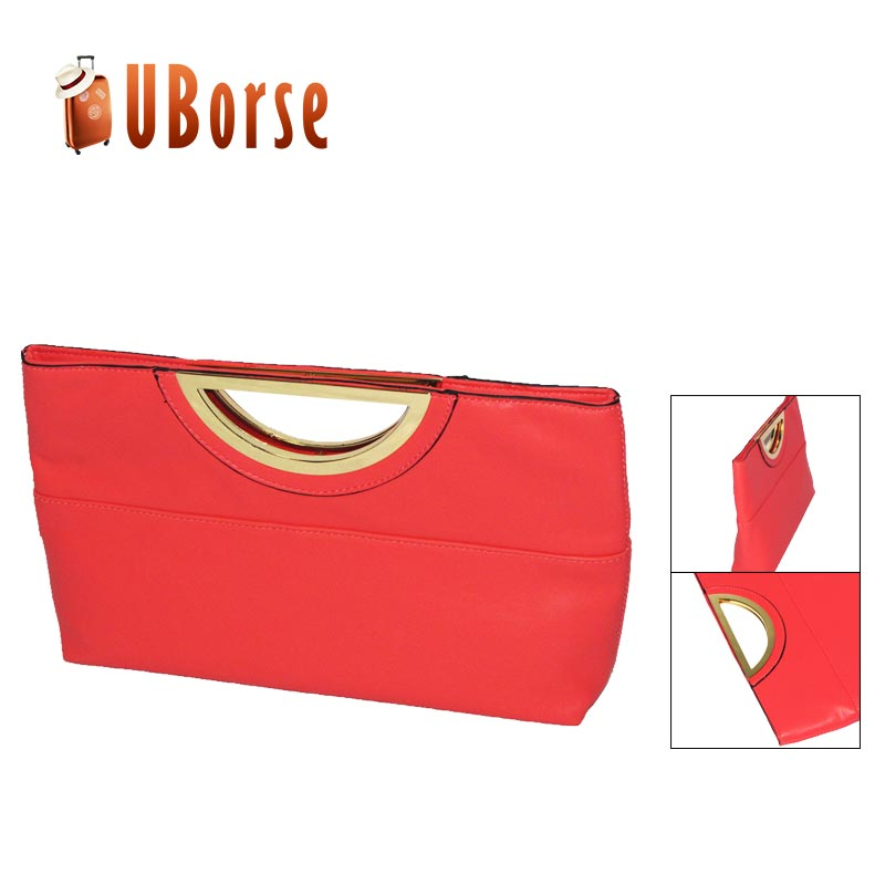 New fashion pu leather lady lips tote bag handbag