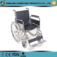 Medical Wheelchair with Flip Back Desk Arms, Elevating Leg Rests JL901