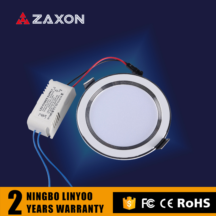 CE/FCC/RoHS Led Lighting Wholesale Round Shape Downlight without plaster Ceiling