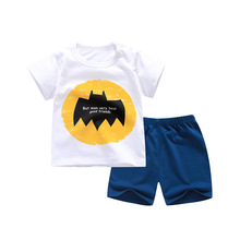 Factory wholesale <strong>children's</strong> <strong>set</strong> Short-sleeved shorts <strong>set</strong> Two-piece summer <strong>set</strong>