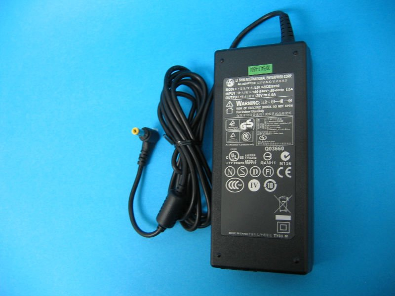 20V 6A laptop Adapter for Fujitsu