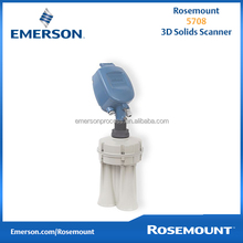 Rosemount 3D solid scanner measurment, for highly accurate continuous level and volume measurement of bulk solids