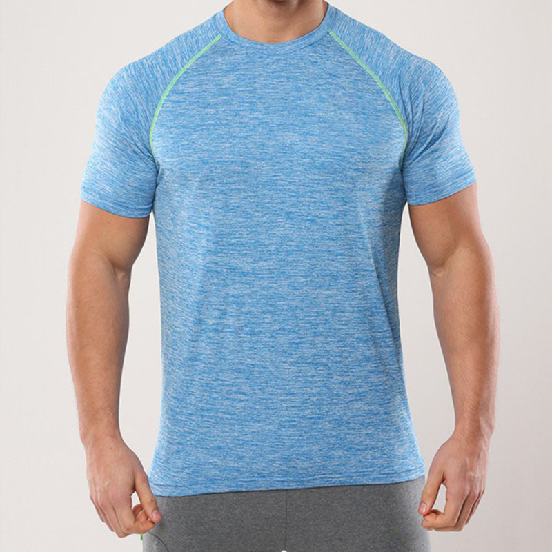 flux blue tech fit wholesale tagless t shirts