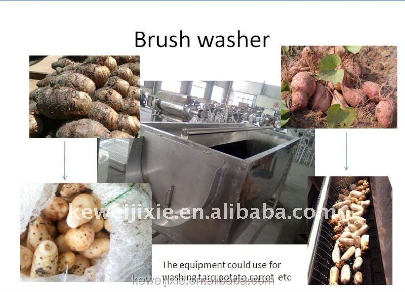 Yam/Patoto/Carrot wash machine
