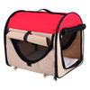 Portable Folding Dog House Red Dome New Small Pet Tent