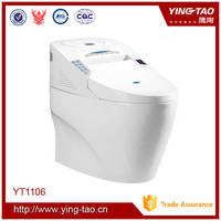 Luxury bathroom siphon one-piece toilet european toilet bidet