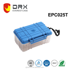 Small Plastic Hard Protective Case With Transparent Color