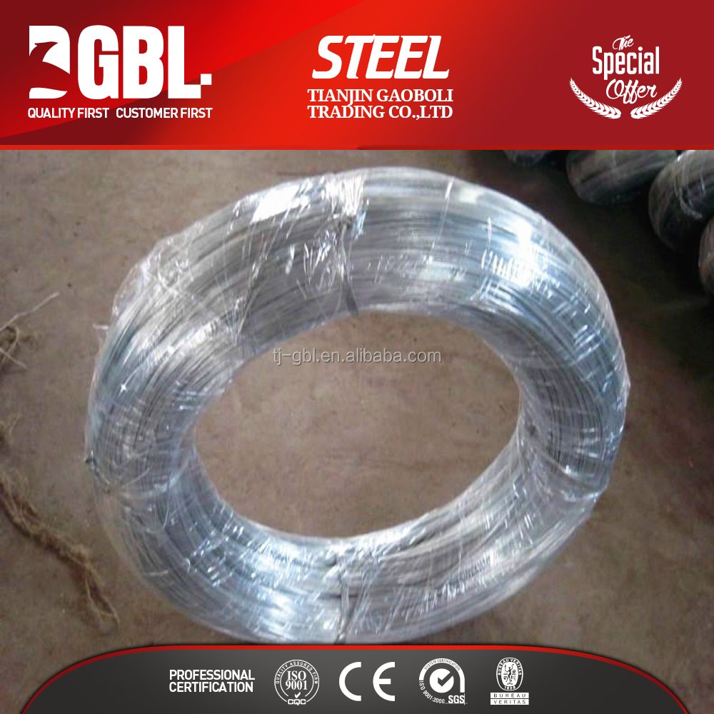 low price carbon steel gi binding wire