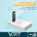 2014 VONETS new WiFi product Magic 4G mobile power bank mp3 player