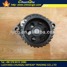 Original YTO wheel tractor oil pump driving gear for engine YTO with drawing no.R060002A-3